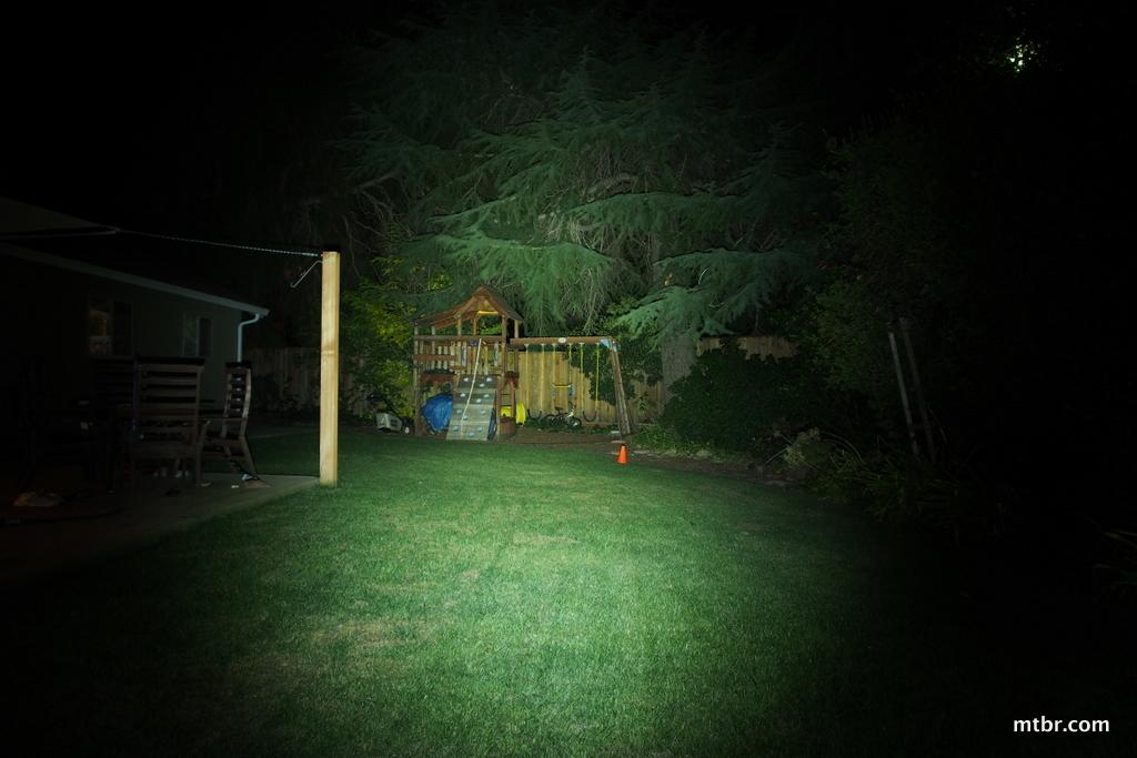 Lupine Piko 3 Backyard Beam Pattern