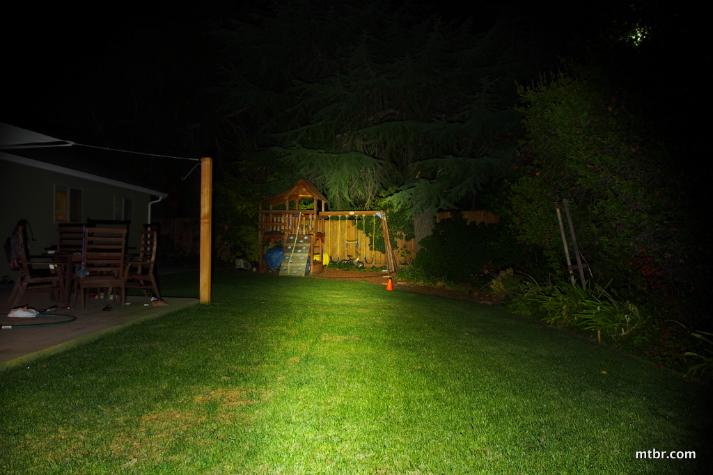 Fenix BT20 Backyard Beam Pattern