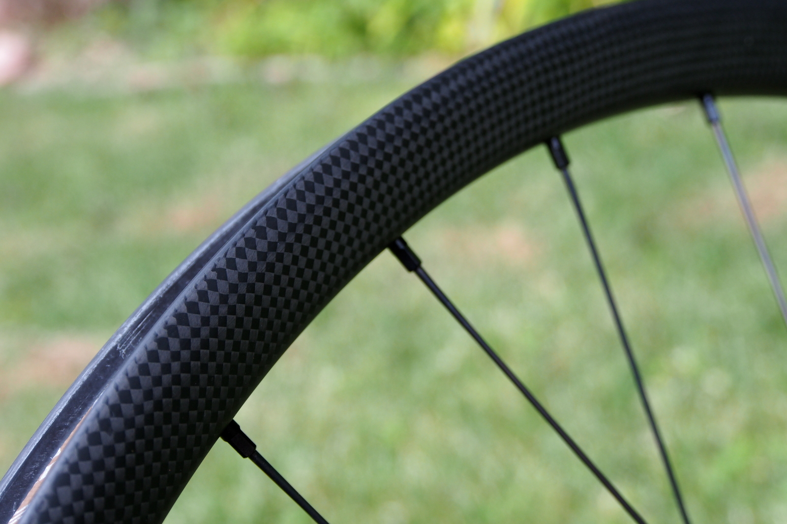 Specialized Control 29 Carbon Wheels rim side view