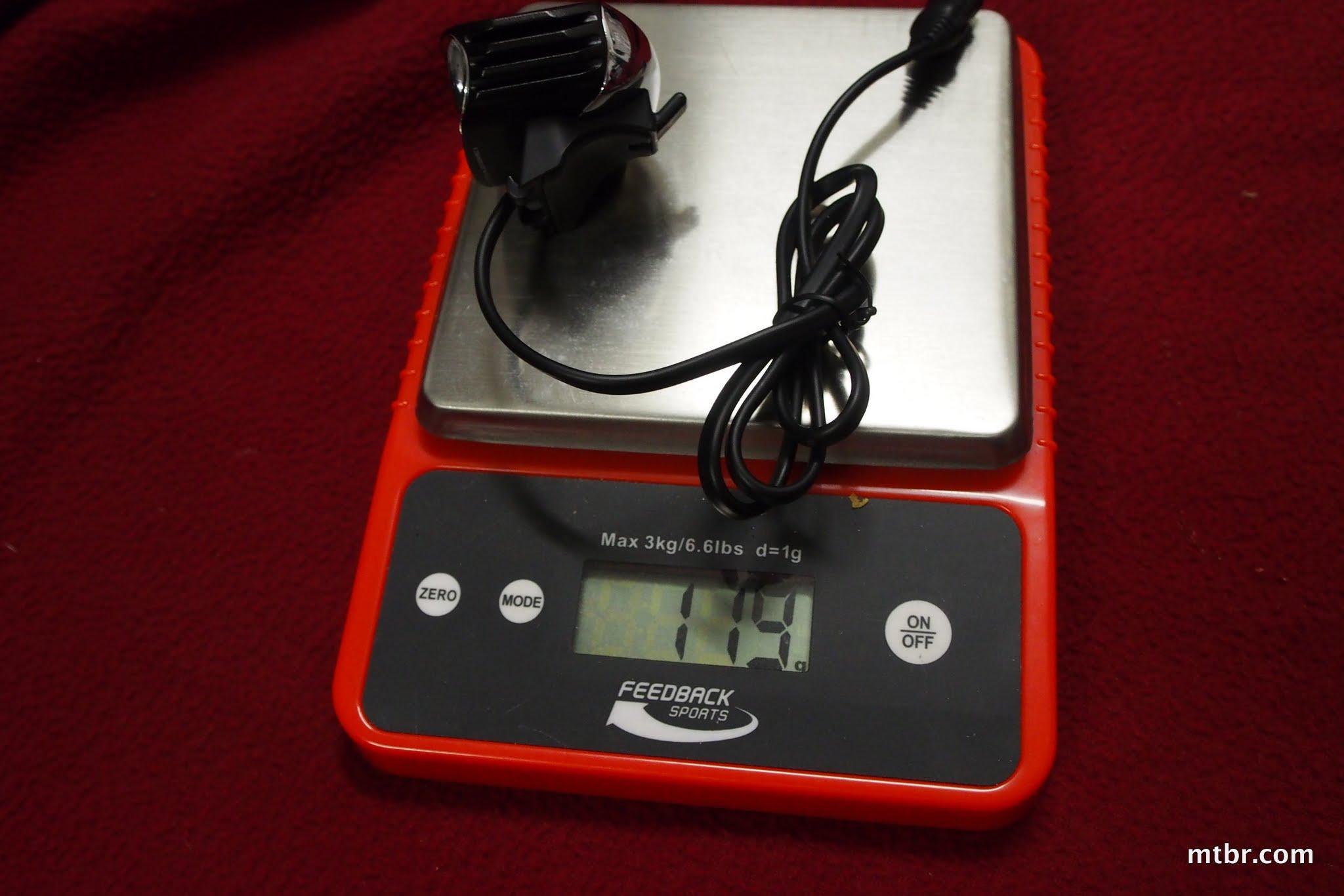 Magicshine MJ-880 U2 Light Head Weight