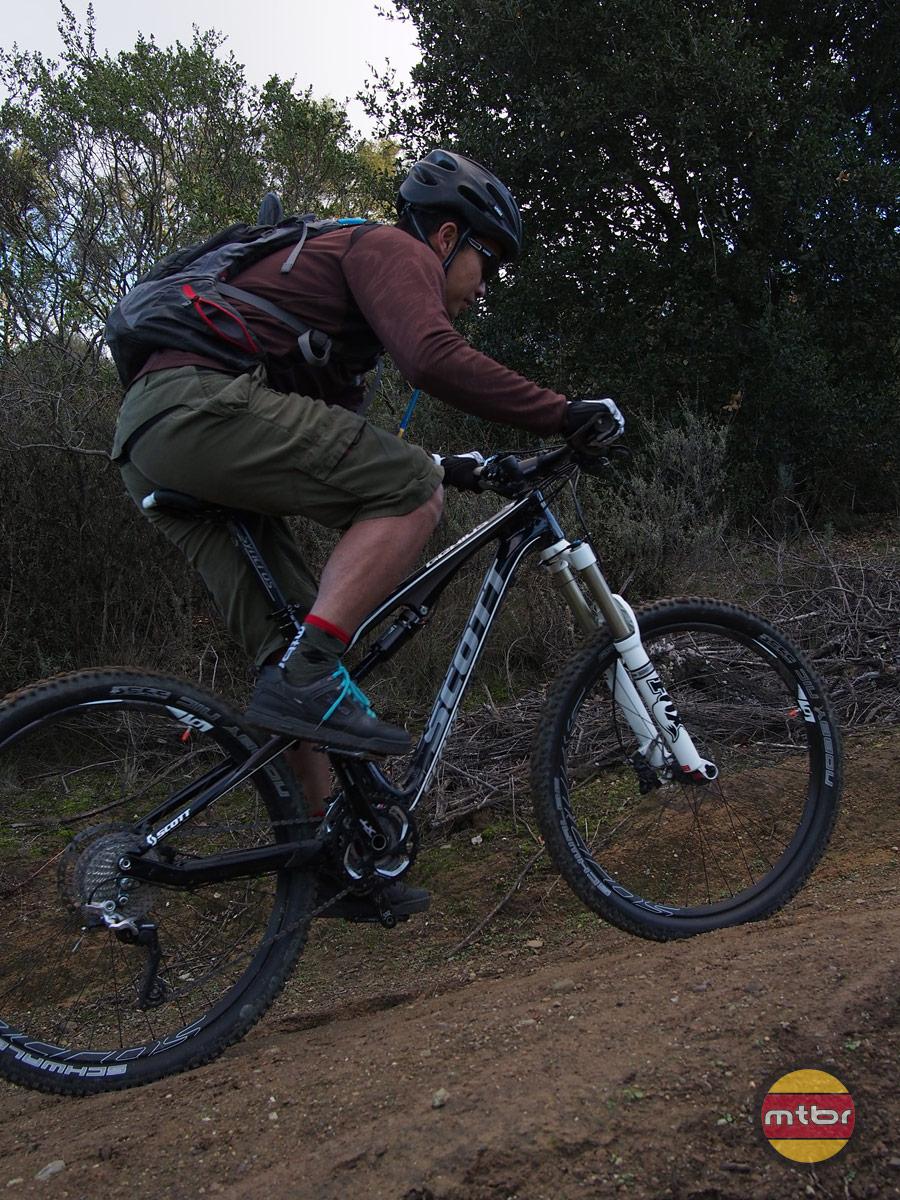 Scott Genius 720 - francis climbing 2