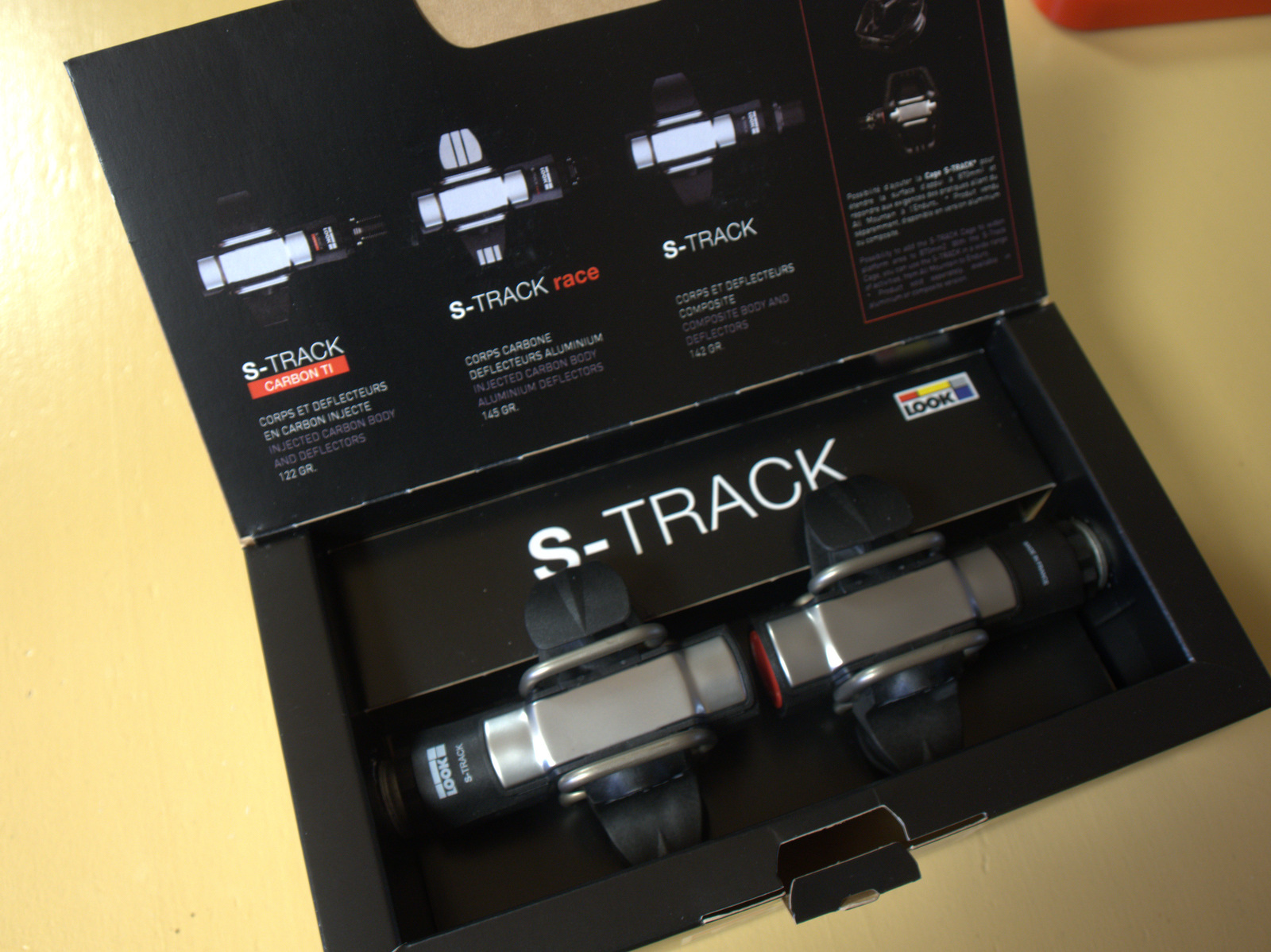 Look S-Track Pedal open box