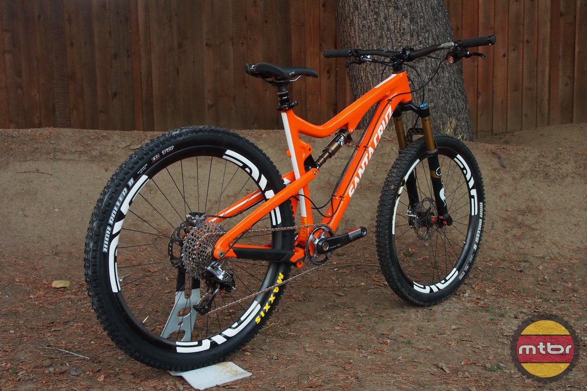 Santa Cruz 5010 With SRAM XX1 Drivetrain