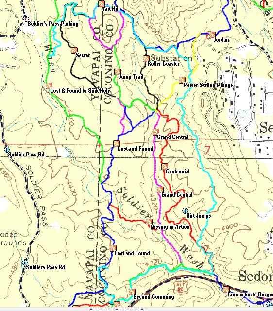 Forums - Mtbr.com on sedona hiking map pdf, cave creek az hiking maps, pine az hiking maps, sedona arizona map, sedona jeep trails map, sedona arizona hiking,