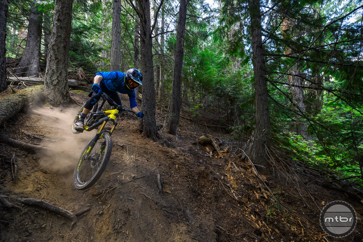 The new Slayer replaces the Altitude as Rocky Mountain's  EWS oriented race machine.