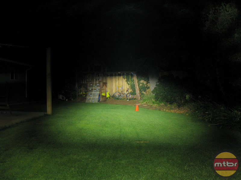 Philips SafeRide Backyard Beam Pattern