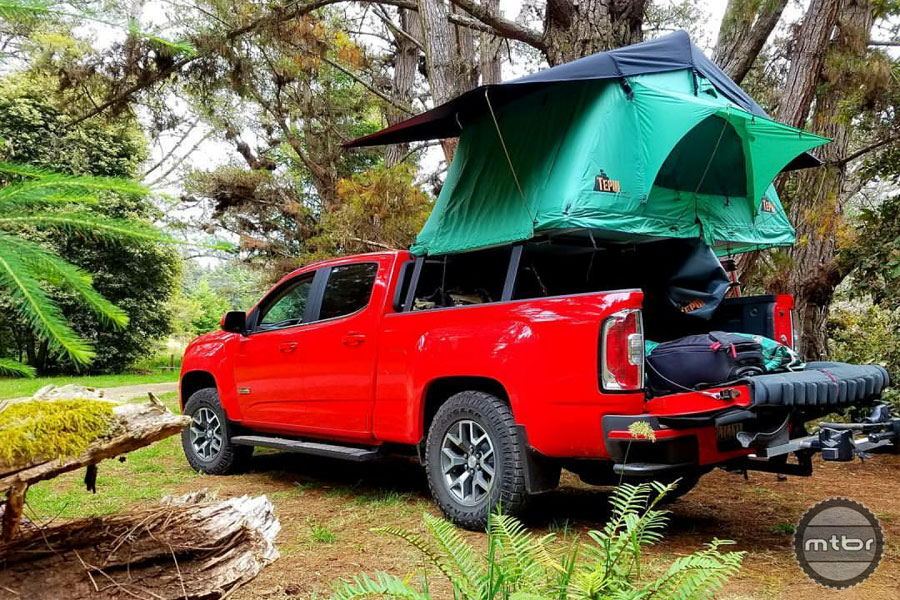 Camping at CES Mendocino