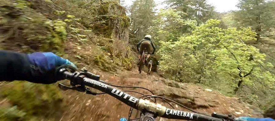 Trail Peek's Dane Petersen finding flow at hyper speed on Butcher Ranch Trail