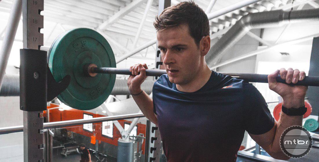 Greg Lifting Weights