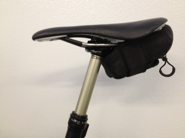 Saddle bag for dropper seatpost-photo-1.jpg