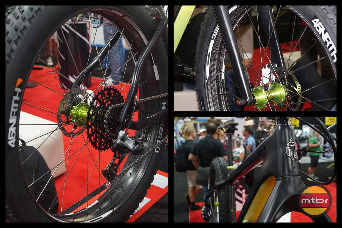 HED Rim/Salsa Bike