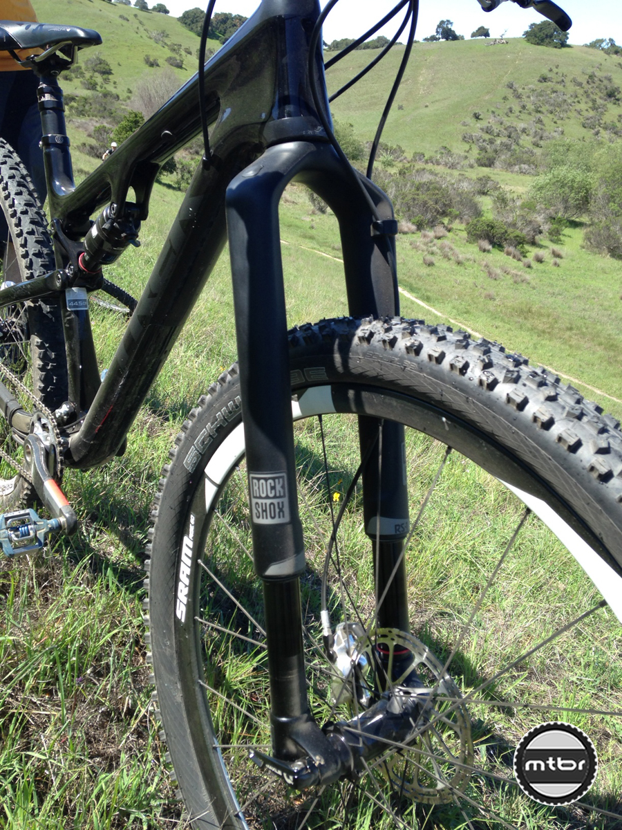 RockShox RS-1 front view