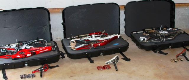 thule bike travel case