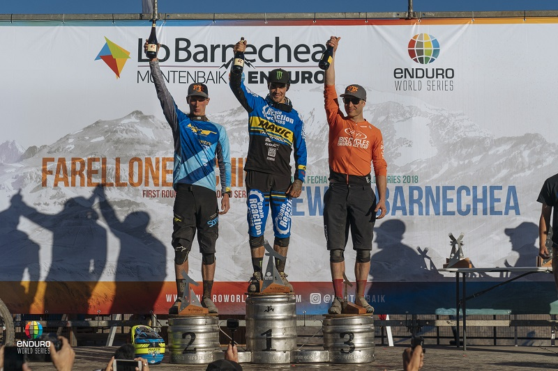 EWS Men's Podium
