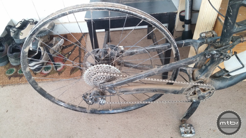 Worked Over Wheel