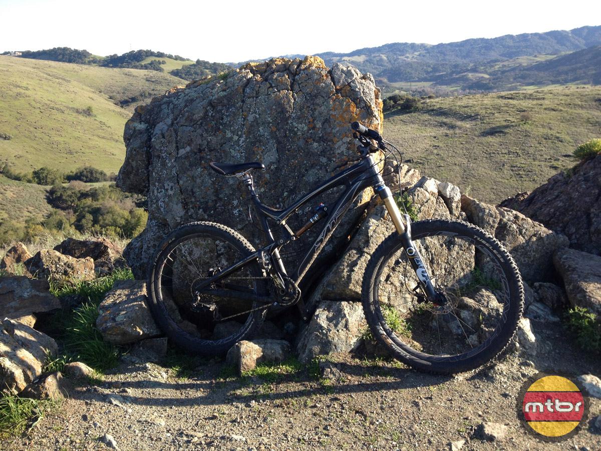 MRP G3 on Bike