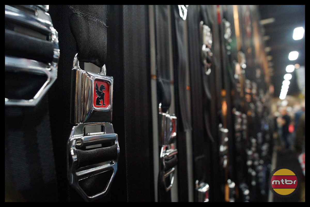 Wall of Belt Straps