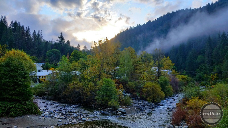 Downieville In The Morning