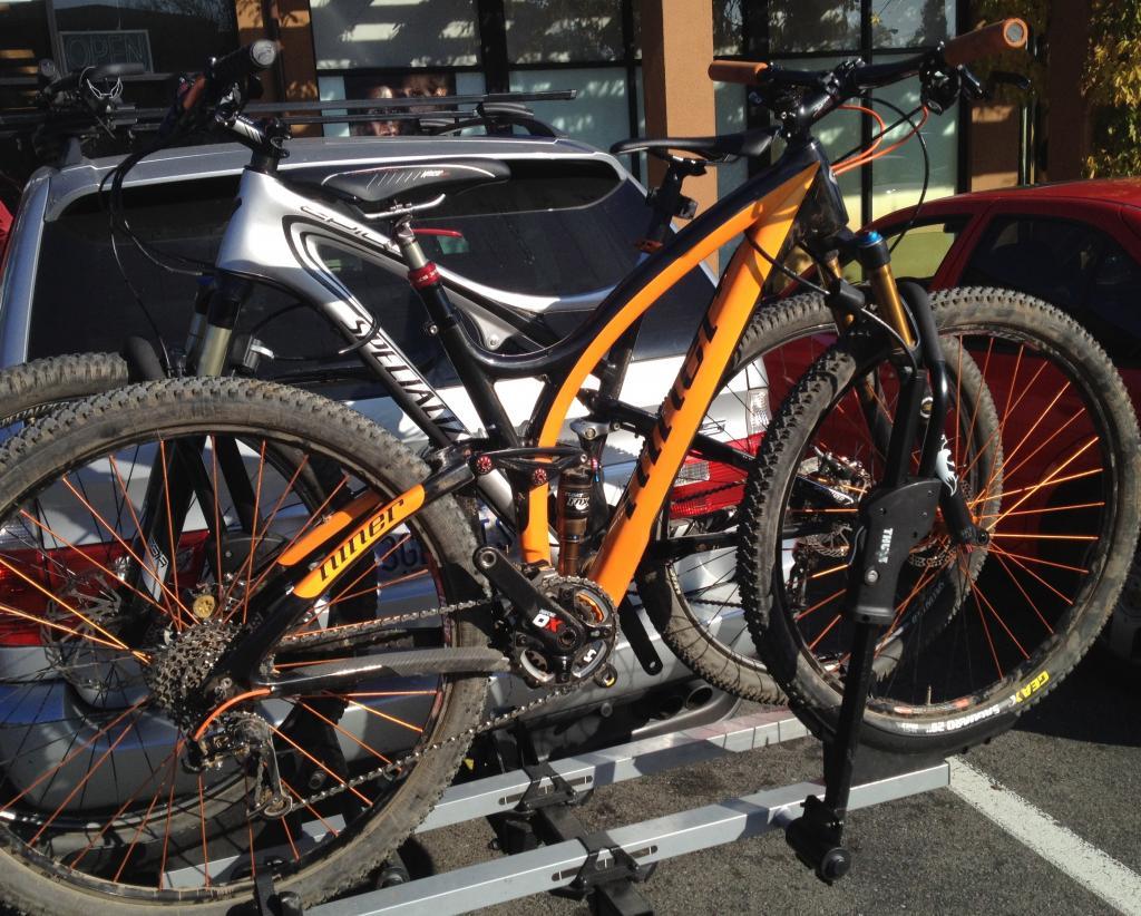 best lock for bikes on car rack?- mtbr