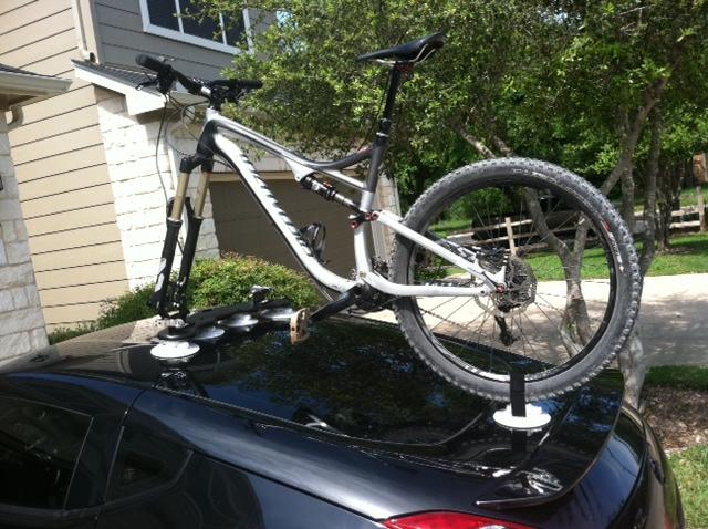 Anyone Use The Suction Cup Style Bike Racks? Photo