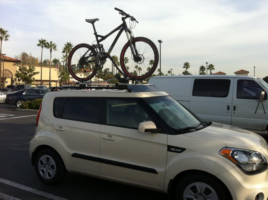 Kia Soul Anyway To Get A 4 Bike Hitch Rack Mtbr Com