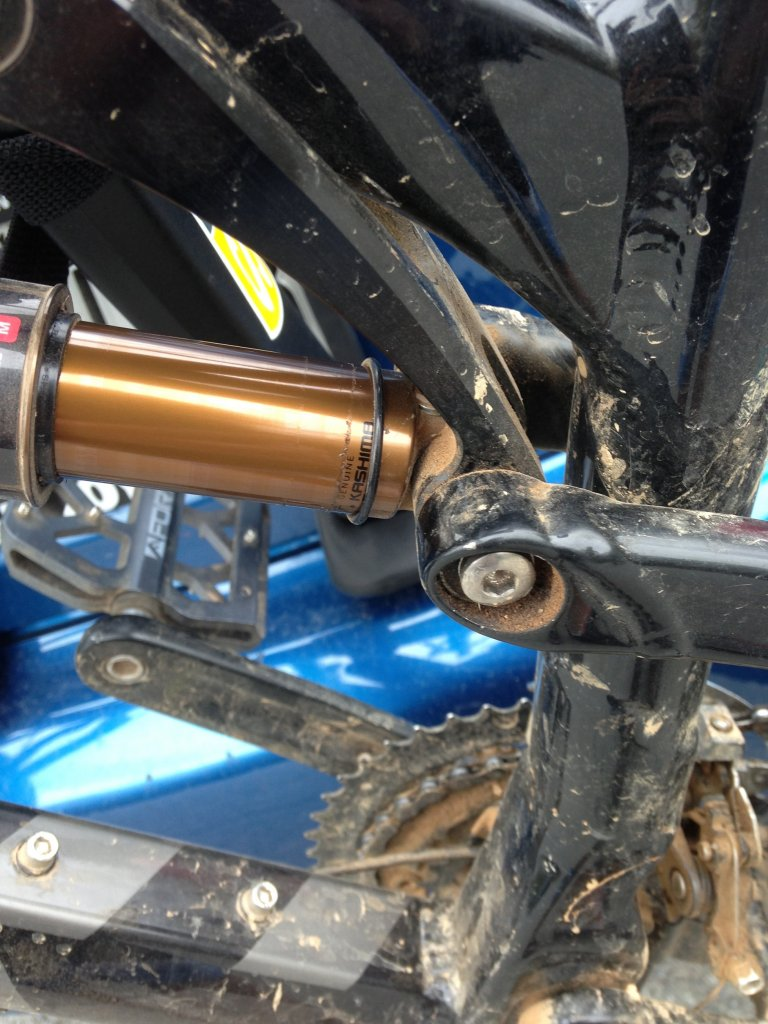 Oil Residue on Rear Shock Stanchion - Is this normal?-photo.jpg