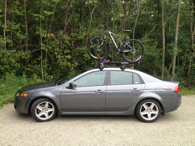 Acura Tl Roof Bike Rack Cosmecol - Acura tl roof rack