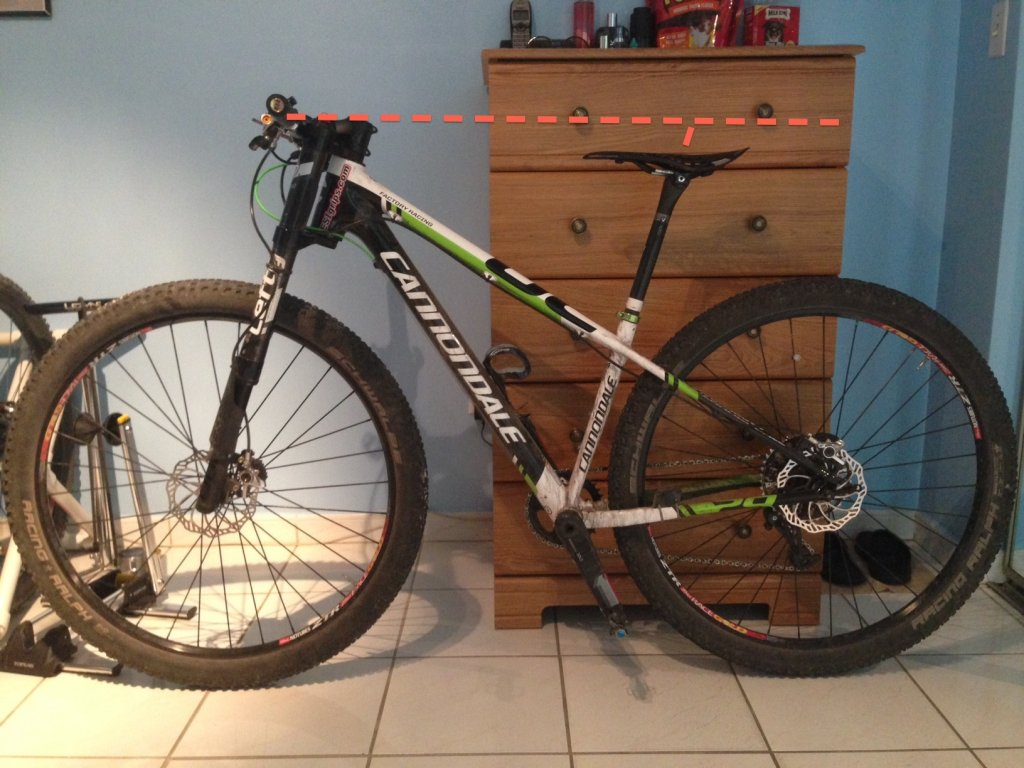 ace12684275 ... Cannondale F29 Factory Racing Frame front too high-photo.jpg