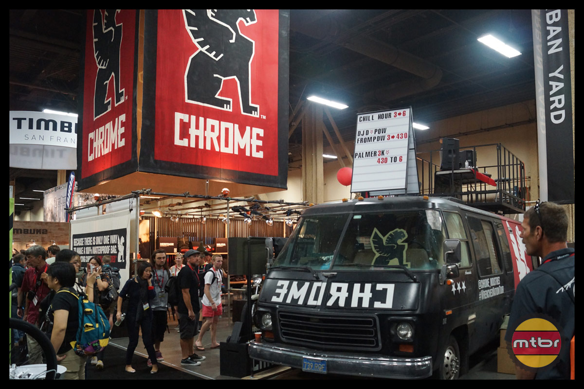 Chrome 2013 Interbike Booth
