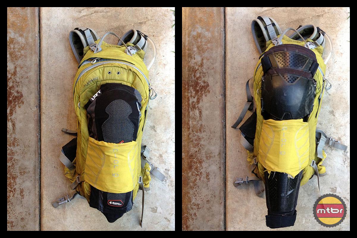 Troy Lee Designs KG 5450 Knee Guards Packed