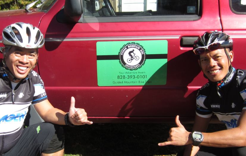 Pisgah Mountain Bike Adventures:  Two Thumps Up!-pic-3.jpg