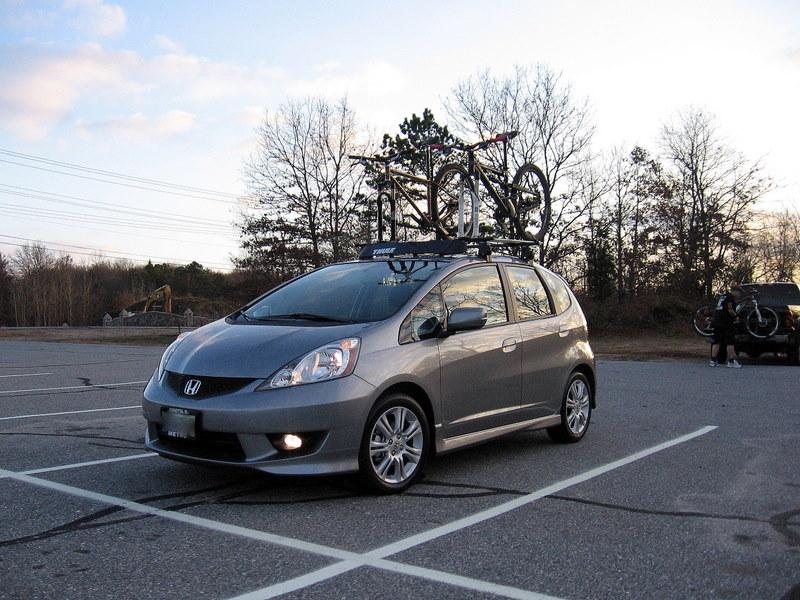 Honda Fit  The Ultimate Compact Bike Hauler?? Picture 364
