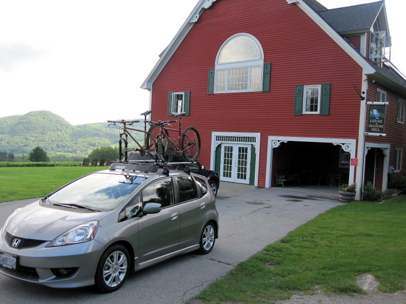 Wanted: Honda Fit Roof Rack Pictures W Bikes Picture 855