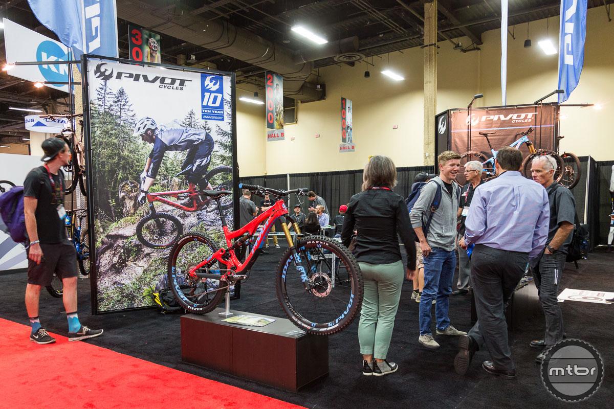 Pivot Cycles Interbike 2017 Booth
