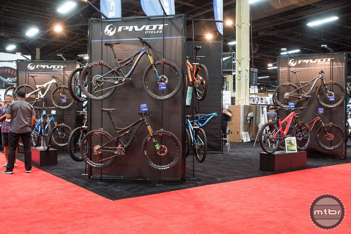 Pivot Interbike 2016 Booth