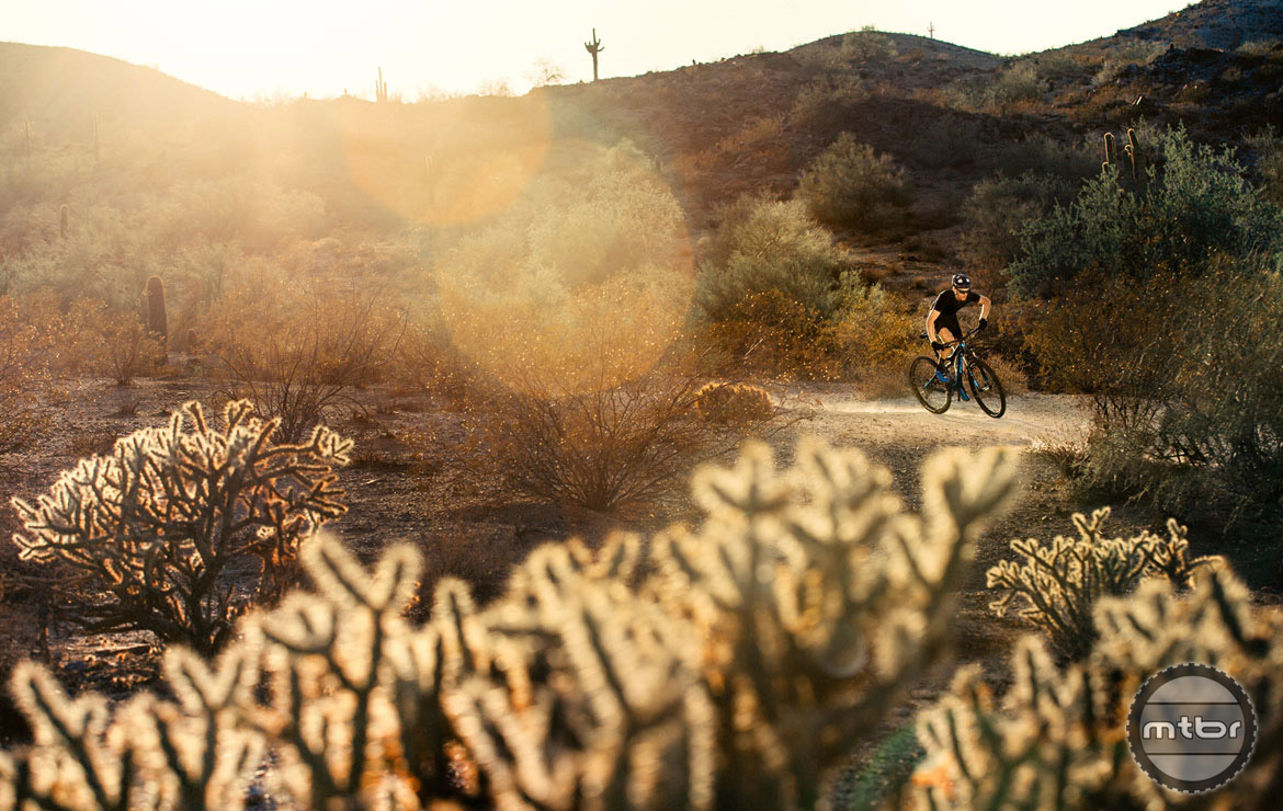 The racy 429SL is at home on the trails or competing bar to bar.