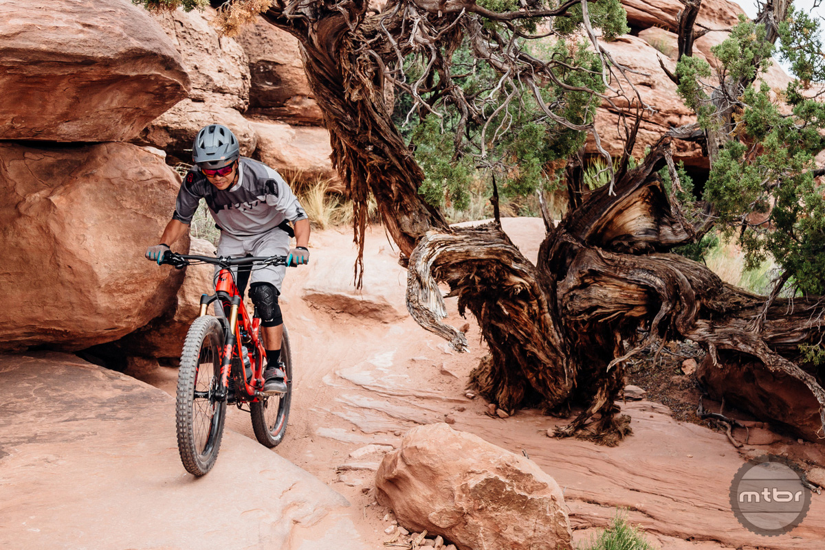 Zonyk Pro worked well in the bright sun of Moab.