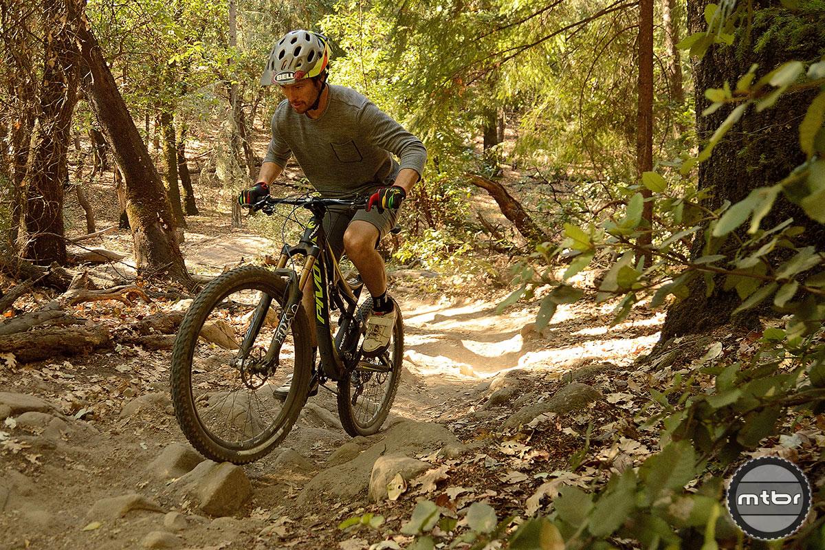 Pivot Mach 6 Allan Cooke Climb