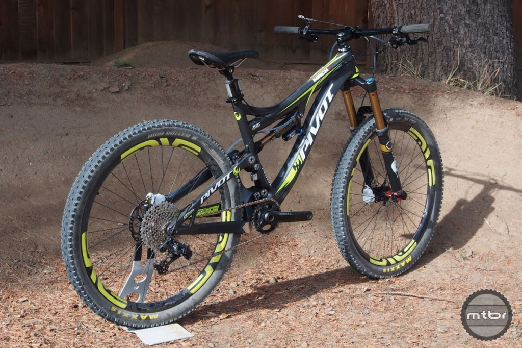 Mountain bike geometries have changed tremendously in the past decade.