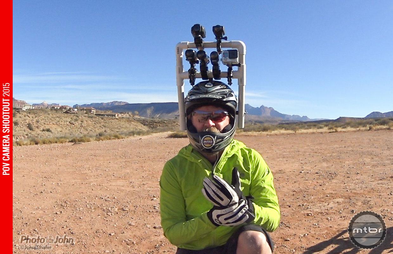 POV Camera Shootout Test Rig