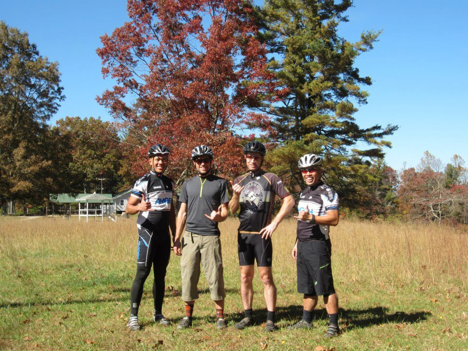 Pisgah Mountain Bike Adventures:  Two Thumps Up!-pmba-ride-6.jpg