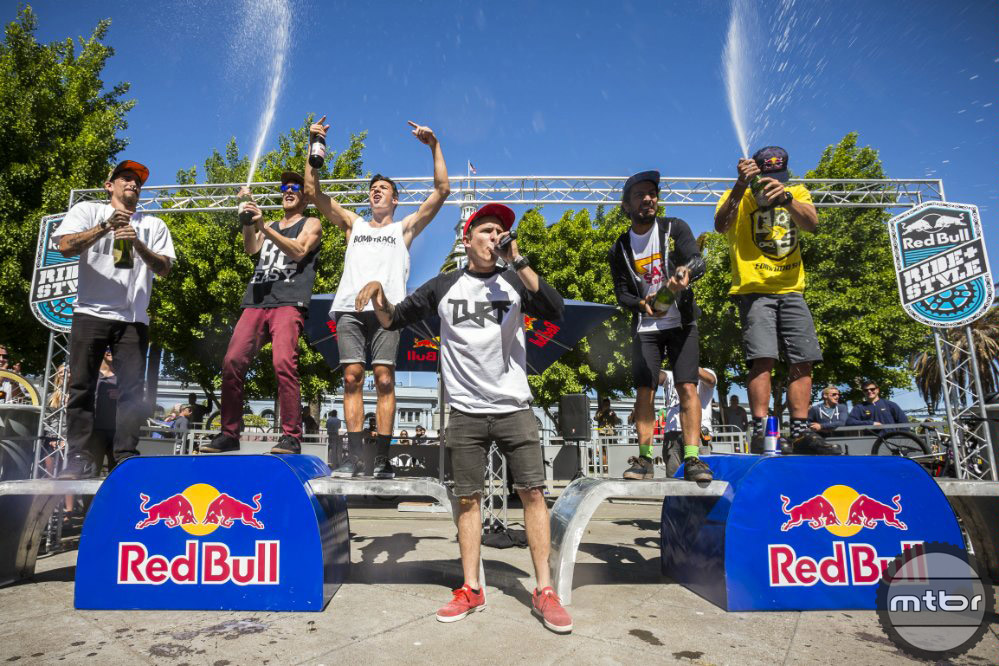 Red Bull Ride + Style Podium