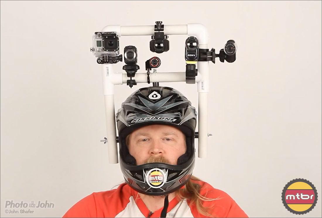 The Author & The POV Shootout Test Rig