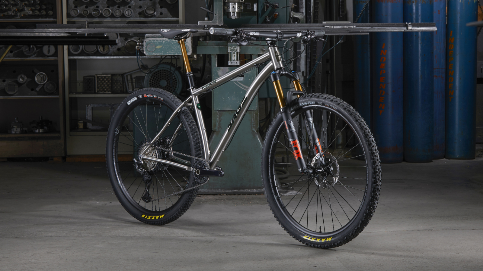 The ability to invest in one bike to cover a broad range of uses is why more mountain bikers should consider titanium. Photo by Sean Burke