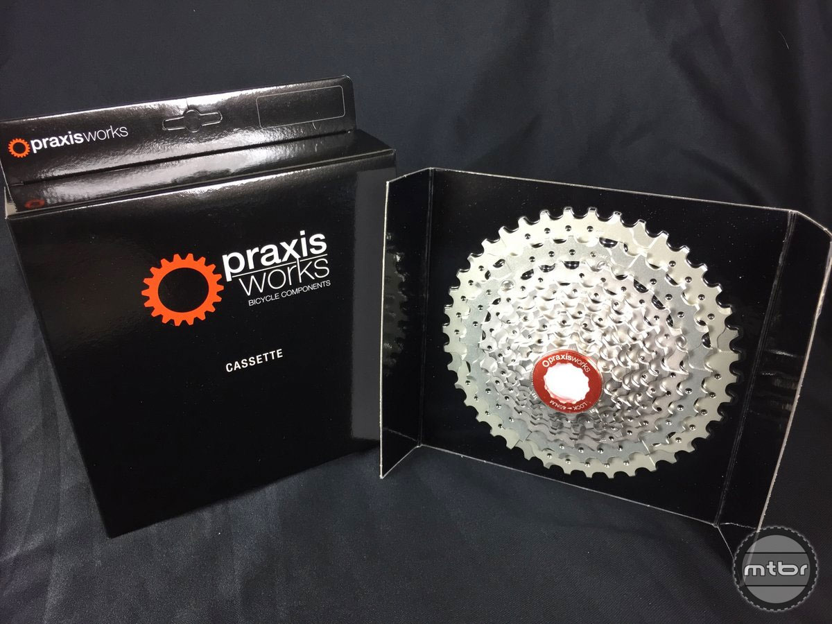 The Praxis 11-40 wide range cassette delivers a wide range with excellent shifting performance.