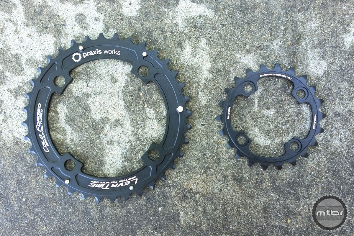 Praxis Works MTB 2X Chainring Set