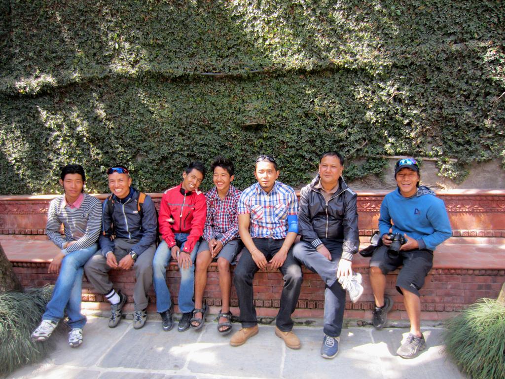 Pre-Race Nepalese guys