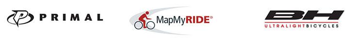 Primal MapMyRide BH Logos