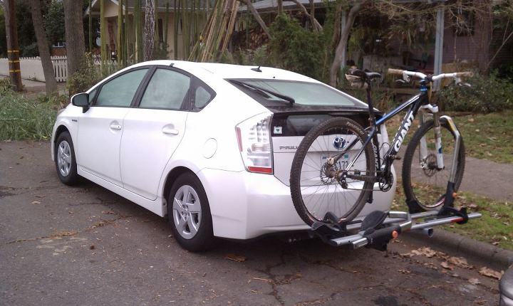 29er Bike Rack On A Prius Mtbr Com