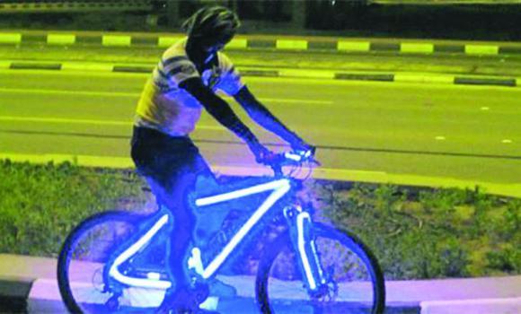 Illuminated Projector Lamp Bike- Mtbr.com